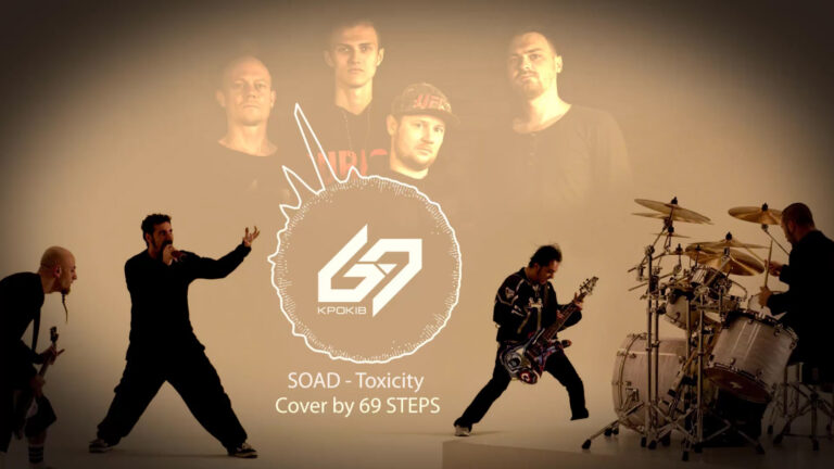 SOAD — Toxicity (Cover by 69 STEPS)